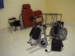 Detachable Backrest And Folding Motorized Wheelchair