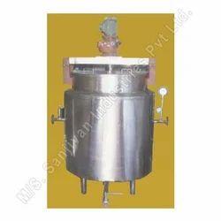 Milk Boiling Storage Tank