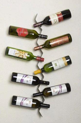 502a5f0d03 Zig Zac 8 Bottle Holder at Rs 1200 /piece(s)   Aluminium Wine Bottle ...