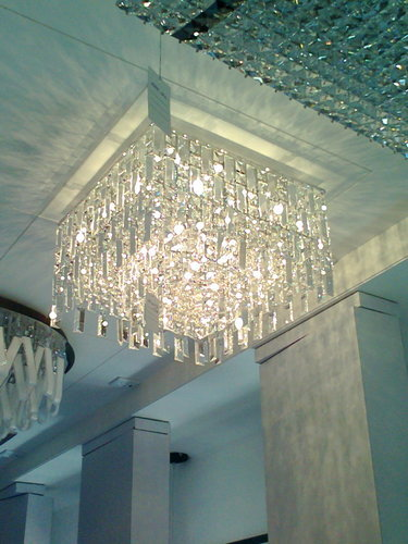 Square Crystal Chandelier at Rs 22000 /2ft | Andheri | Mumbai | ID ...
