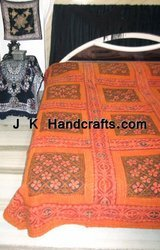 Embroidered Thread Work Bed Spreads