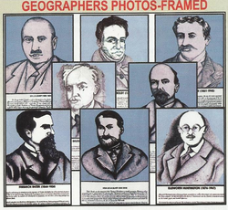Geographers Photos- Framed