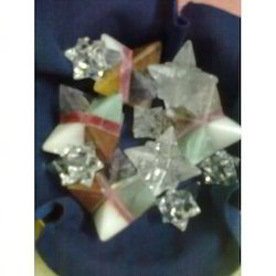 Merkaba Star Crystal/Multi Gemstone Merkaba Star