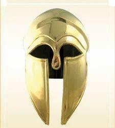 Armor Helmet Corinthian Brass