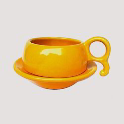 Cup In Deep Saucer