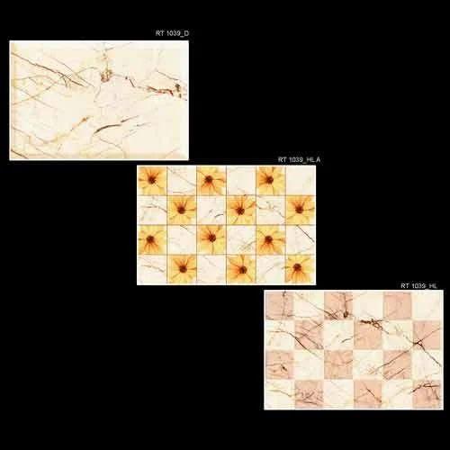 Digital Printed Wall Tiles Decorative Ivory Wall Tiles