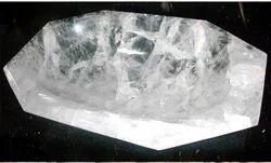 Marble Wall Mounted Crystal Wash Basin, For Bathroom