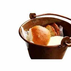 Copper Bread Bucket