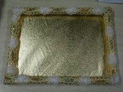 Golden Chocolate Tray