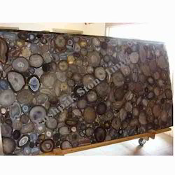 Brown Agate Stone Slab