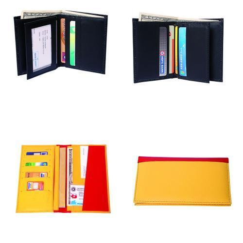 Tocco Leather Credit Card Holders, Packaging Type: Packet