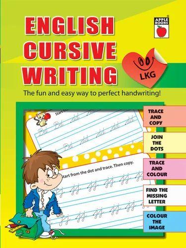 English cursive writing lkg at rs 95 piece children books id english cursive writing lkg ibookread ePUb