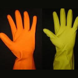 Rubber (PVC) Hand Gloves
