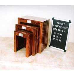Wooden Furniture Cube
