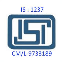 BIS Certification IS : 1237