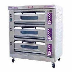 Three Decks Pizza Oven