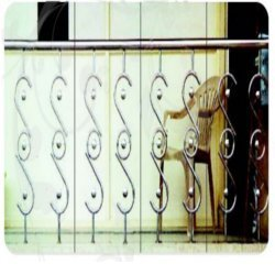 stainless steel capsule railings