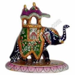 Meena Painting Ambabadi Elephant
