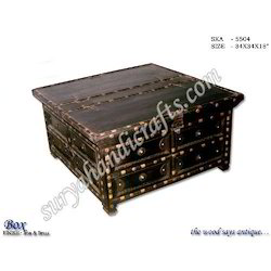 Surya Recycled Wooden Trunk