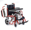 Motorized Seat Up And Sliding Wheelchair
