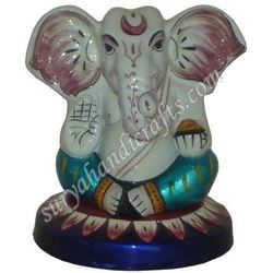 Meena Painting Ganesh Ji with Stand