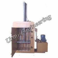 Single Box Hydraulic Baling Press Machine