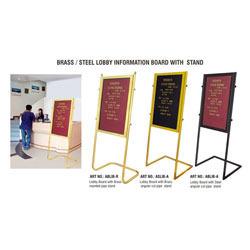 Lobby Information Boards