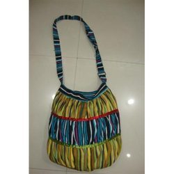 Cotton Striped Bags