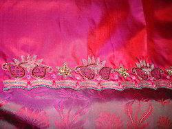 Cutwork Embroidered Saree