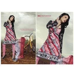 Punjabi Suits - Cotton Printed Ladies Suit Manufacturer from Mumbai