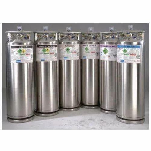 Portable Cryogenic Liquid Cylinders, Capacity: Standard, Rs 25000 /piece |  ID: 3582252230