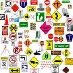 Road Furniture Signs Manufacturer Service Provider From Navi - Road sign furniture