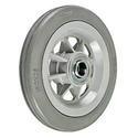 Cushion Tyred With Nylon Grey Wheels