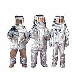Aluminuim Fire Proximity Suit