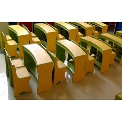 Modular Wooden School Furniture