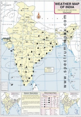 India Weather Map October Weather Map of India at Rs 180 /piece | Model Basti | New  India Weather Map