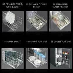 SS Kitchen Basket
