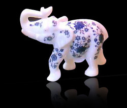 Inlay White Elephant