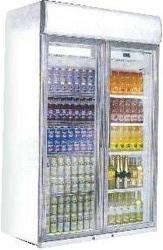 Refrigeration Equipment Chest Freezer Curve Glass