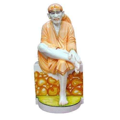 Marble Human Statue And Marble Sai Baba Statues