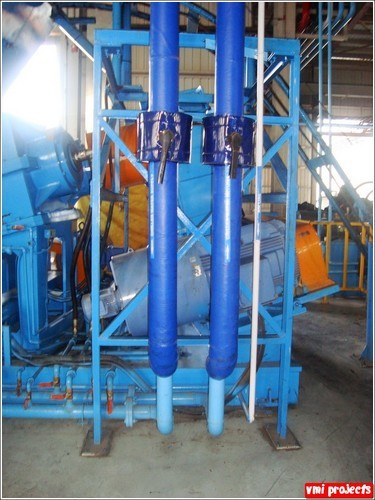 Chilled Water Pipe Line With Insulation V M I