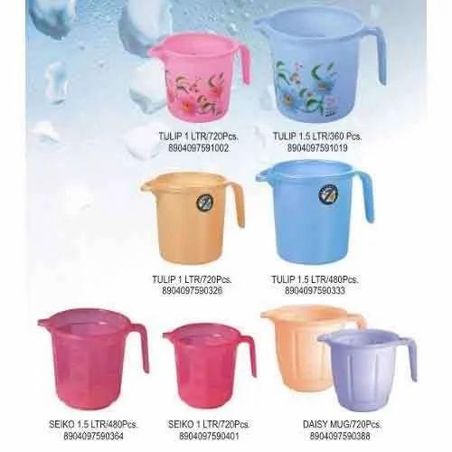 Plastic Mugs - Plastic Water Mug Wholesaler from Mumbai
