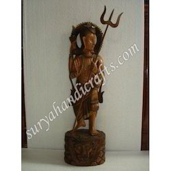 Wooden Antique Sarveshwar Mahadev