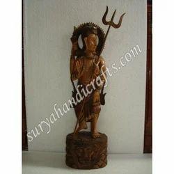 Wooden Antique Sarveshwar Mahadev