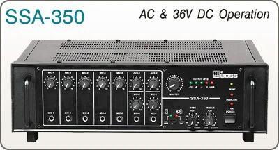250 Watts Ssa 250 Pa Amplifiers