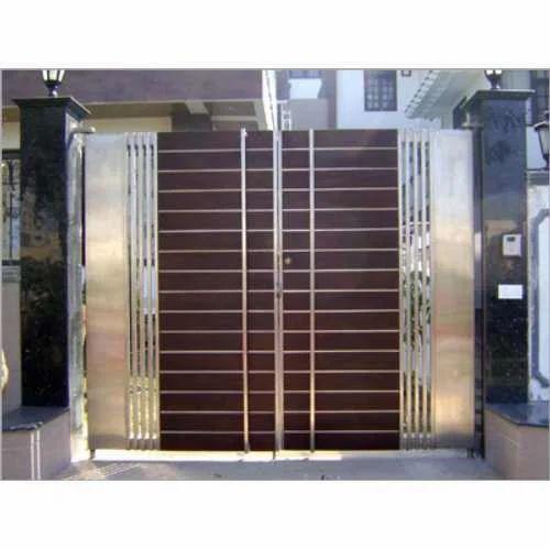 Steel Gate Stainless Steel Main Gate Manufacturer From Delhi
