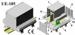 Din Rail Module Enclosure 112x88x110