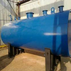 Blue SS, MS Industrial Storage Tank