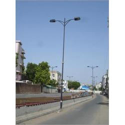 Mild Steel Tubular Lighting Pole