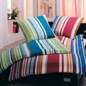 Striped Bed Furnishings